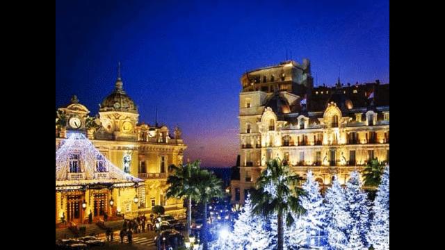 Weihnachten in Monte Carlo!