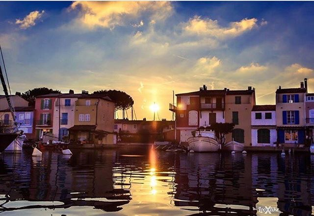 It's magic! Autumn sunrise in St Tropez